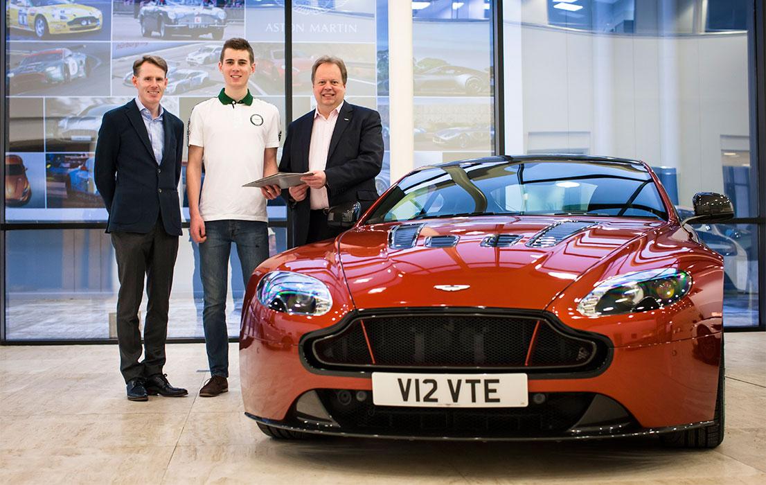 Aston Martin Evolution Academy 2015