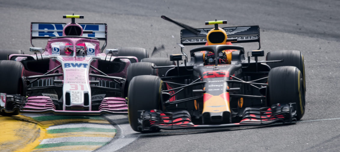 Max Verstappen and Esteban Ocon