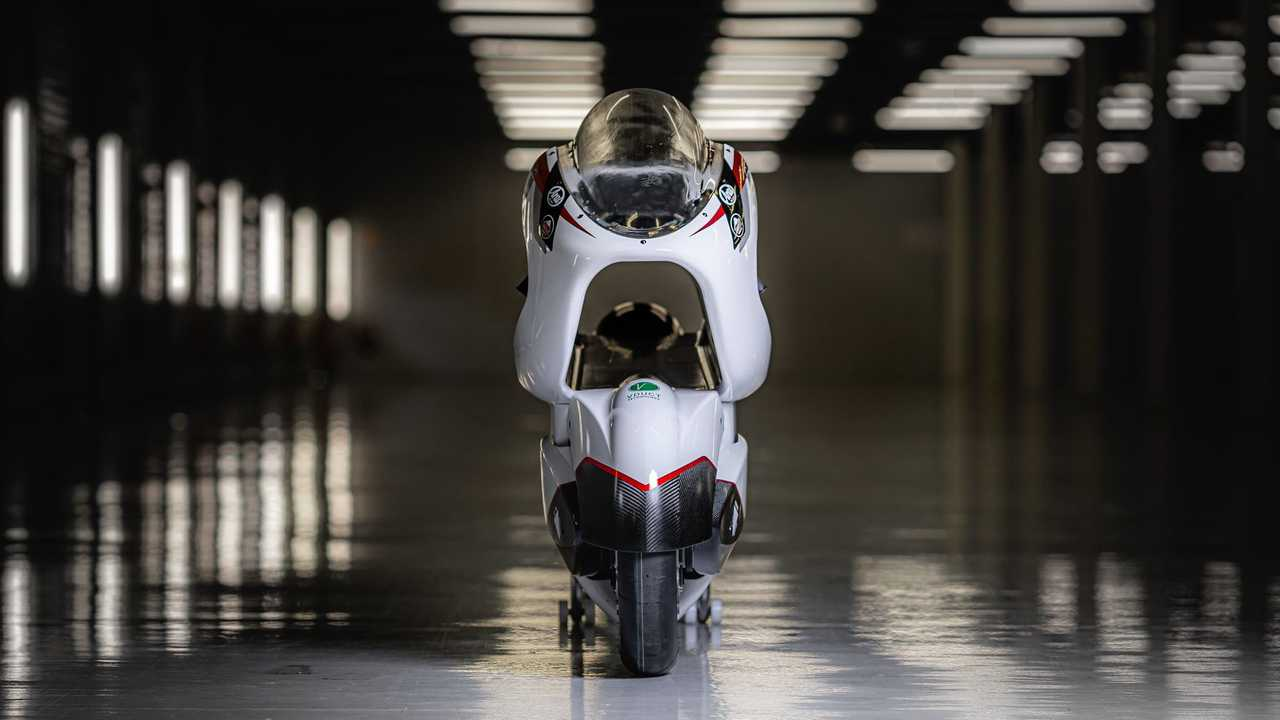 Inside White Motorcycles Land Speed Record attempt